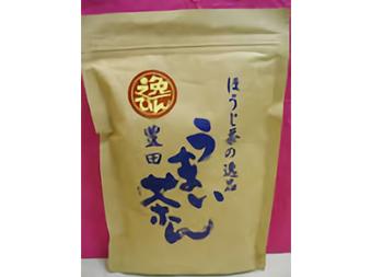 ほうじ茶の逸品 うまい茶(ぢゃ)ん 600円/100g